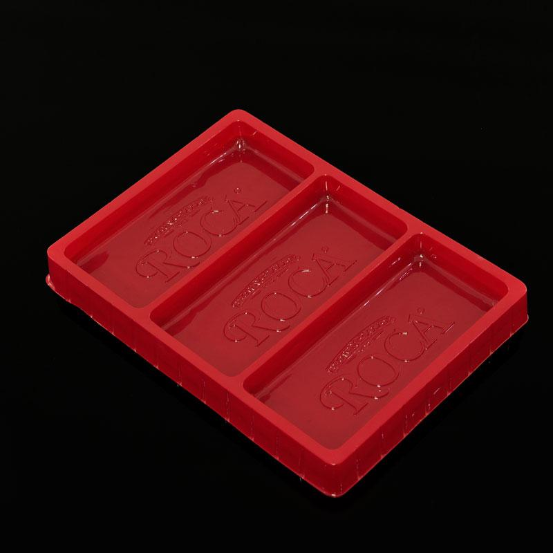 红色吸塑托盘制作厂家