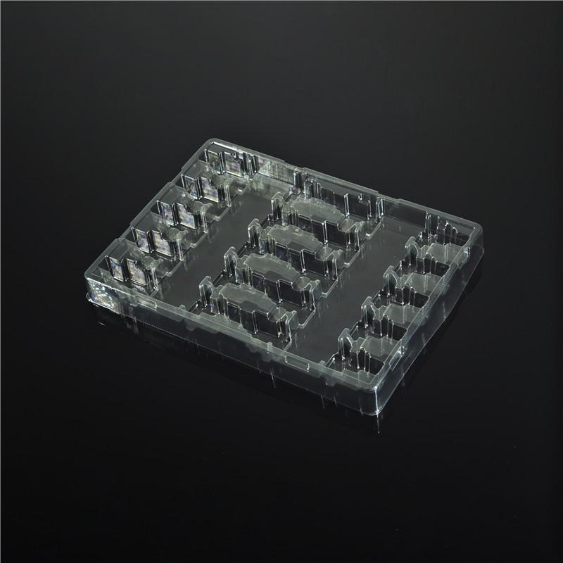 电子芯片吸塑托盘